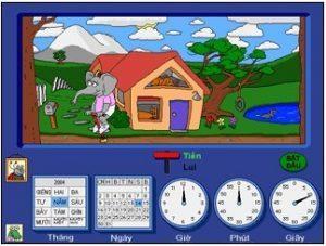Kidsmart - Ngôi nhà không gian và thời gian