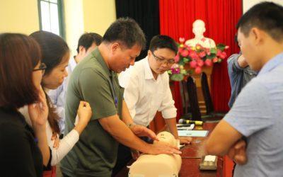 Novastars vinh dự kết hợp cùng Sở GD&ĐT HN tổ chức tập huấn Phòng tránh tai nạn thương tích cấp học MN
